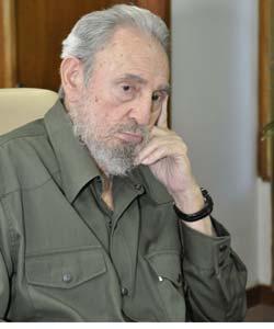 Descalifica Fidel Castro interpretación de periodista estadounidense