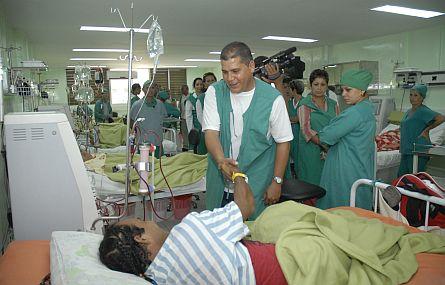 Visita primer secretario del Partido en Villa Clara nuevas obras de impacto social en el centro de Cuba