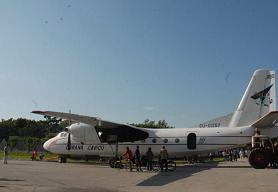 Avanzan trabajos en Santa Clara para convertir un avión AM 24 en centro recreativo y comercial